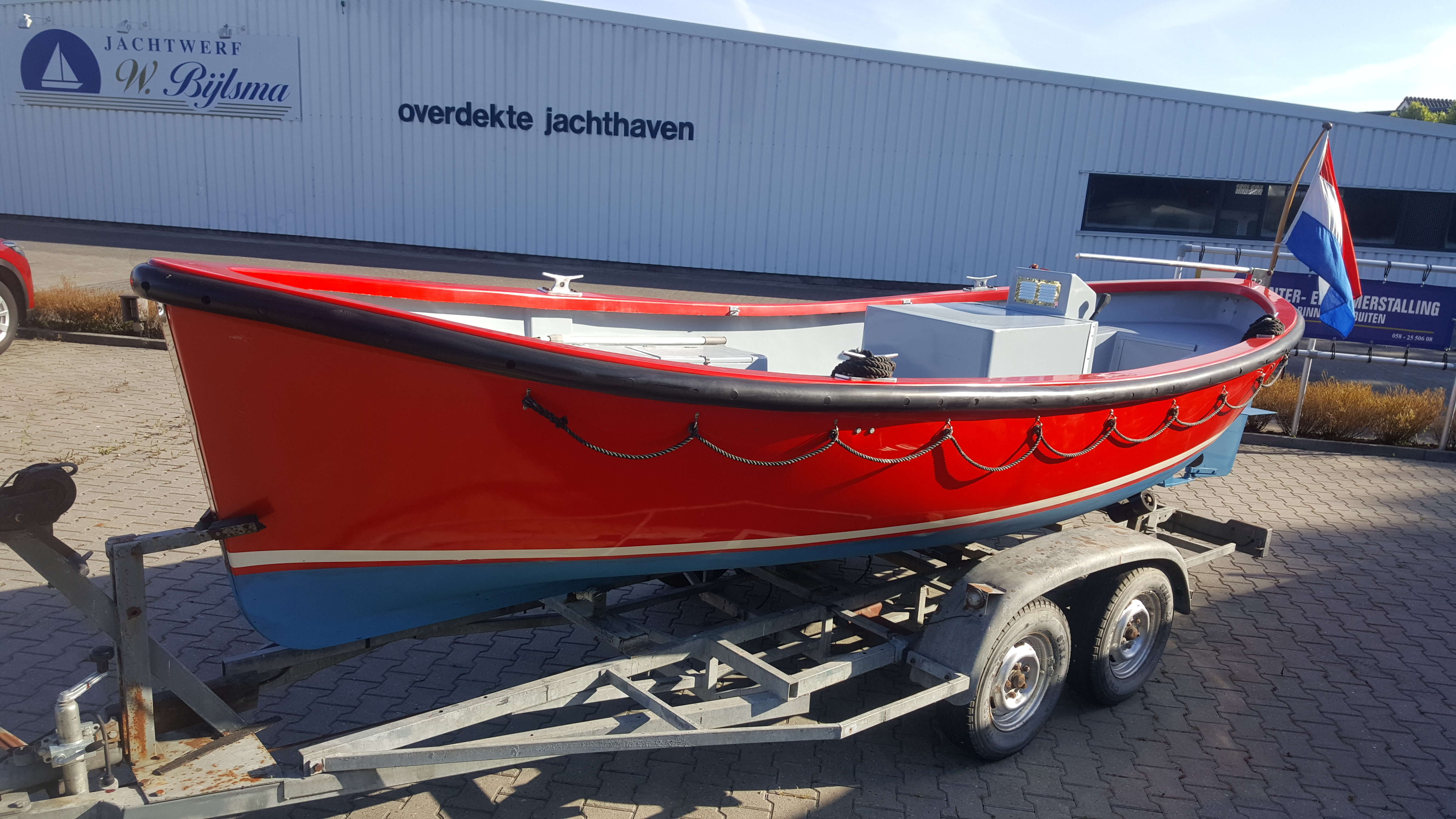 Sloep – Stormer 55 Lifeboat  met trailer - € 8.750.-