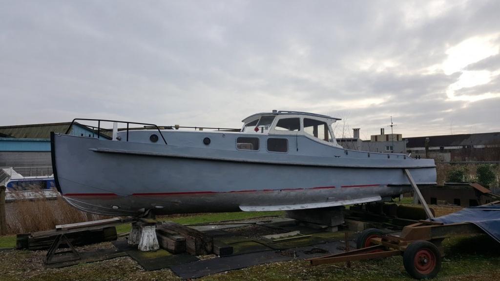 Ex Patrouille Vaartuig - Rijkspolitie 1942   € 18.500