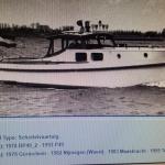 VERKOCHT Ex Patrouille Vaartuig - Rijkspolitie 1942